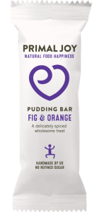Pudding Bar Fig & Orange
